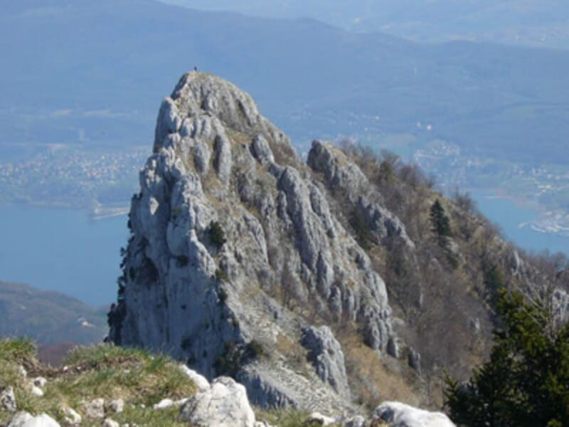 Via Ferrata à la Grotte à Carret près de Chambéry